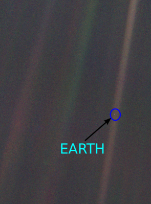 The Pale Blue Dot