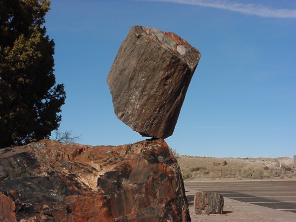 Balancing rocks and the earthquake detectives